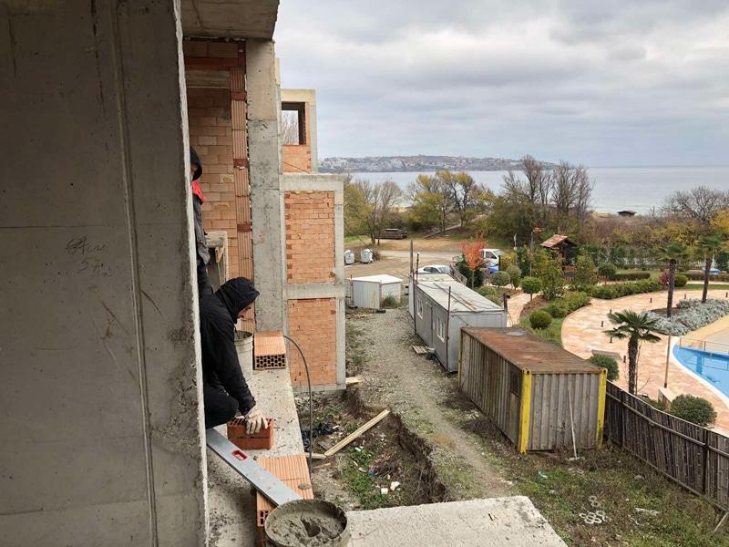 Stage of construction Saint John 2, Sozopol 11