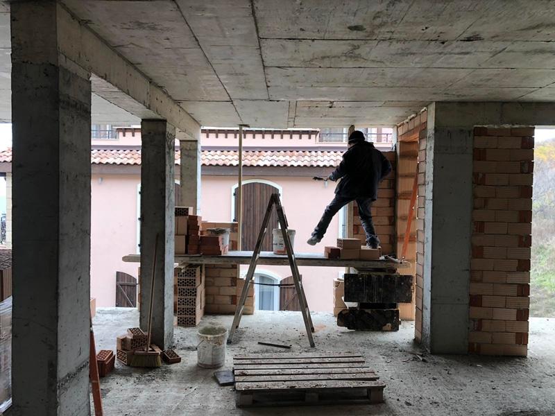 Stage of construction Saint John 2, Sozopol 14