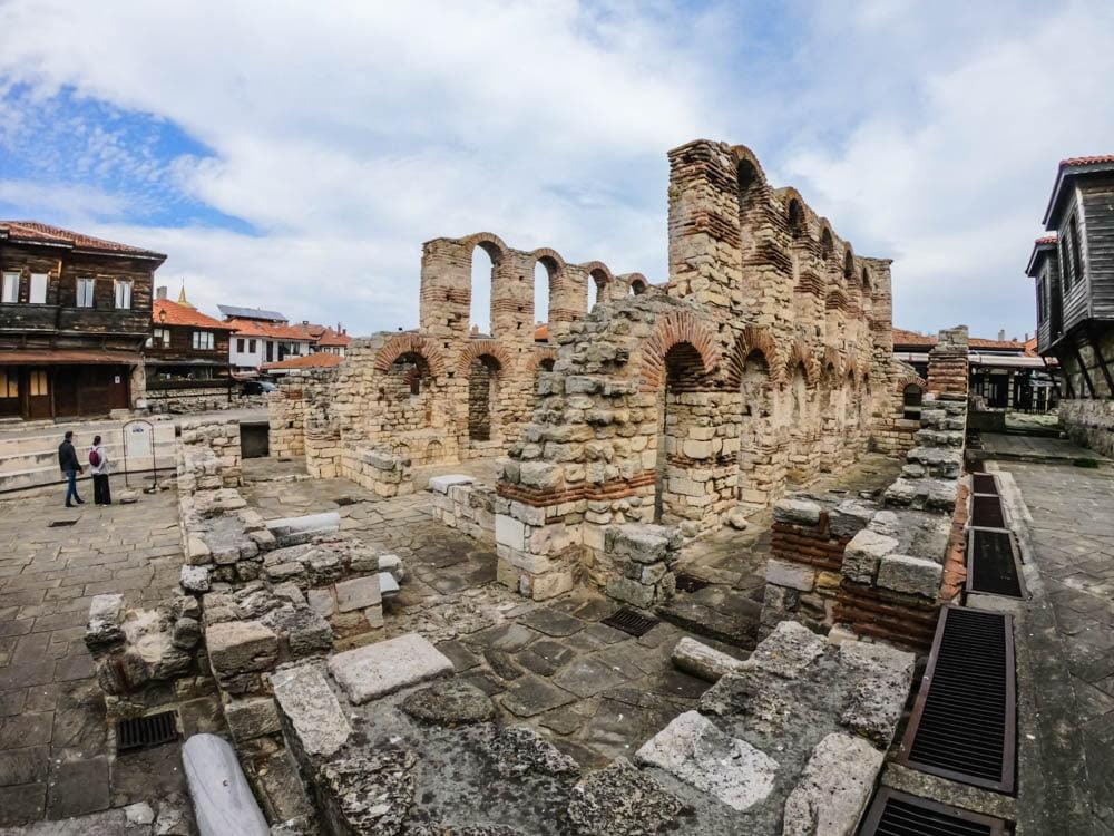 Церковь Святой Софии Несебр 14
