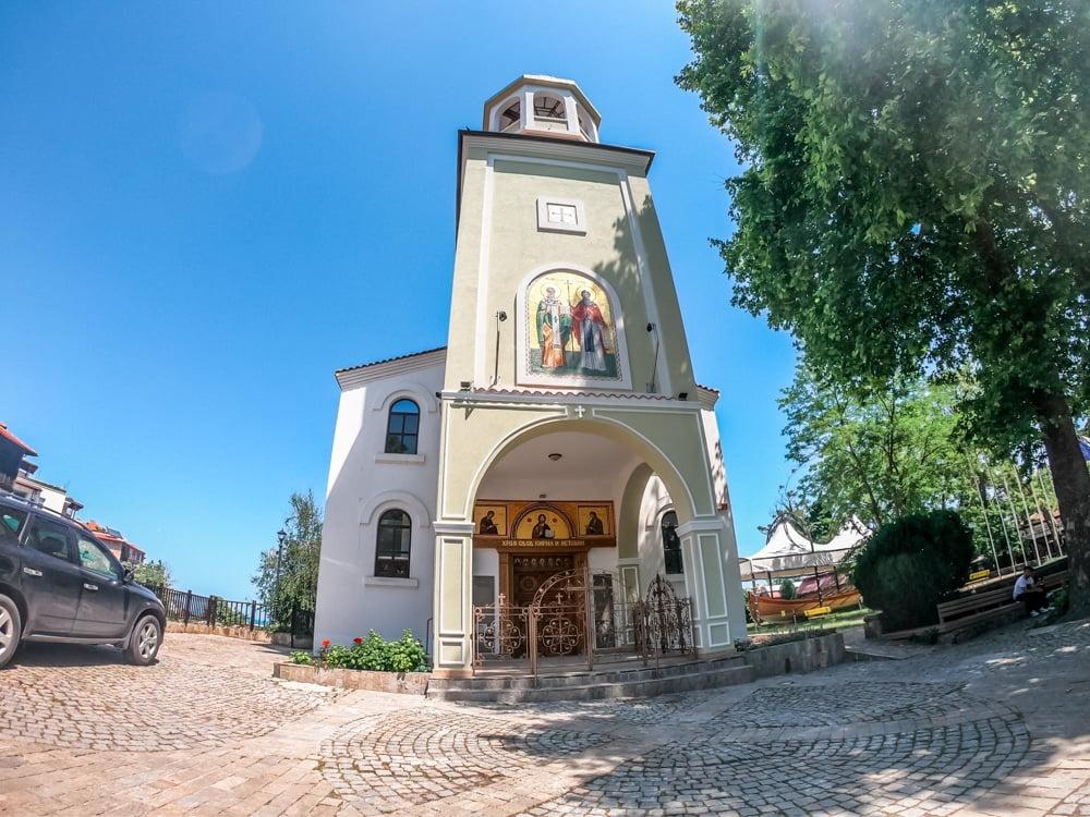 Церковь Кирилла и Мефодия, Созополь 1