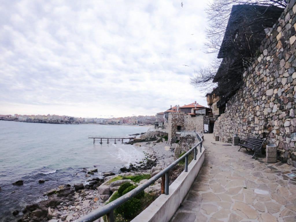 Архитектурно-исторический комплекс - Южная крепостная стена и башня в Созополе 4