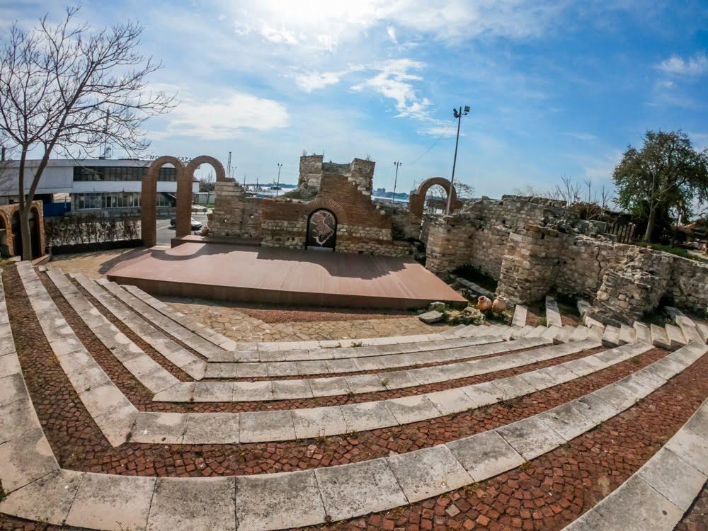Античный амфитеатр в Несебре 5