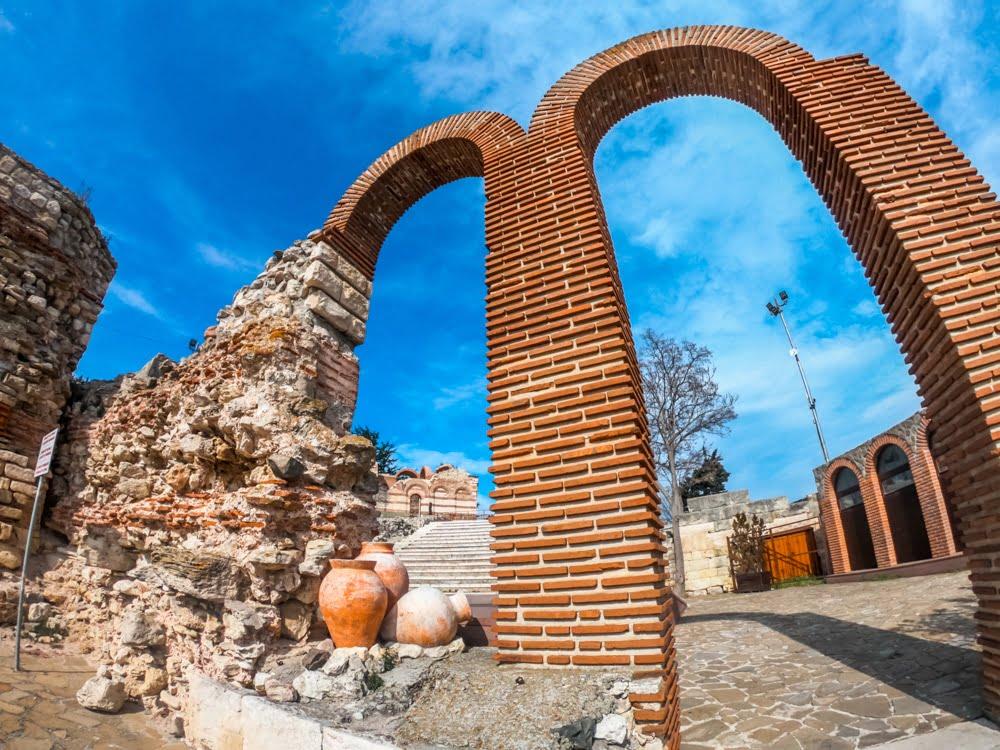 Античный амфитеатр в Несебре 1