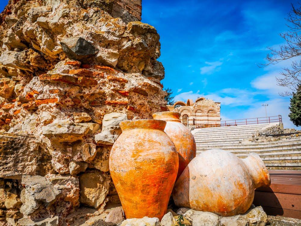 Античный амфитеатр в Несебре 2