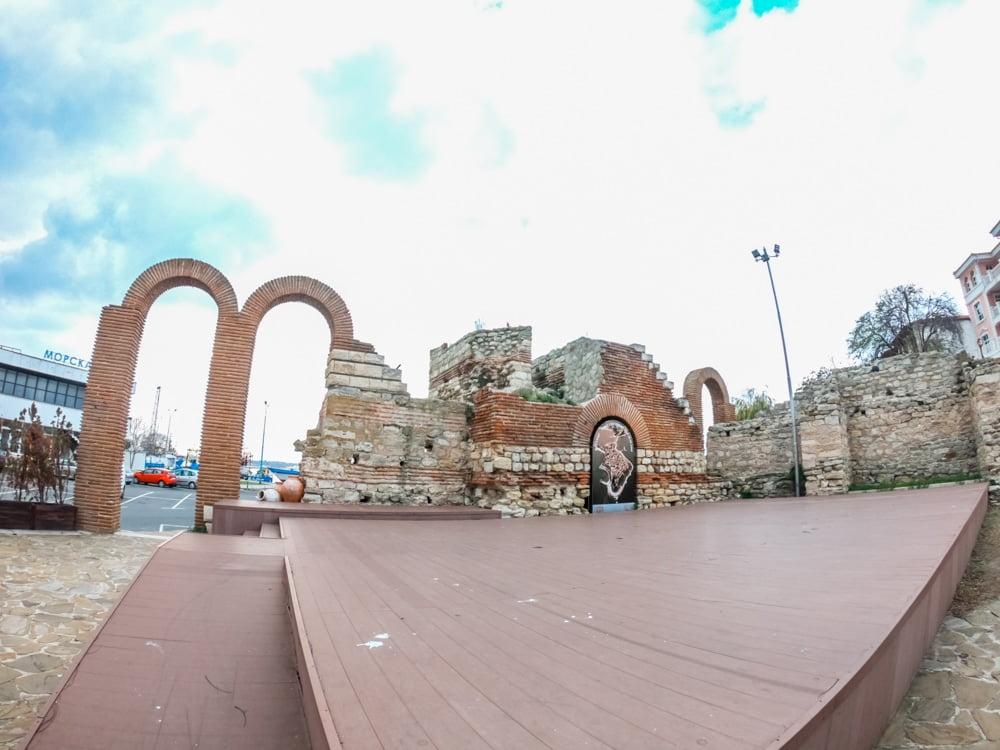 Античный амфитеатр в Несебре 6