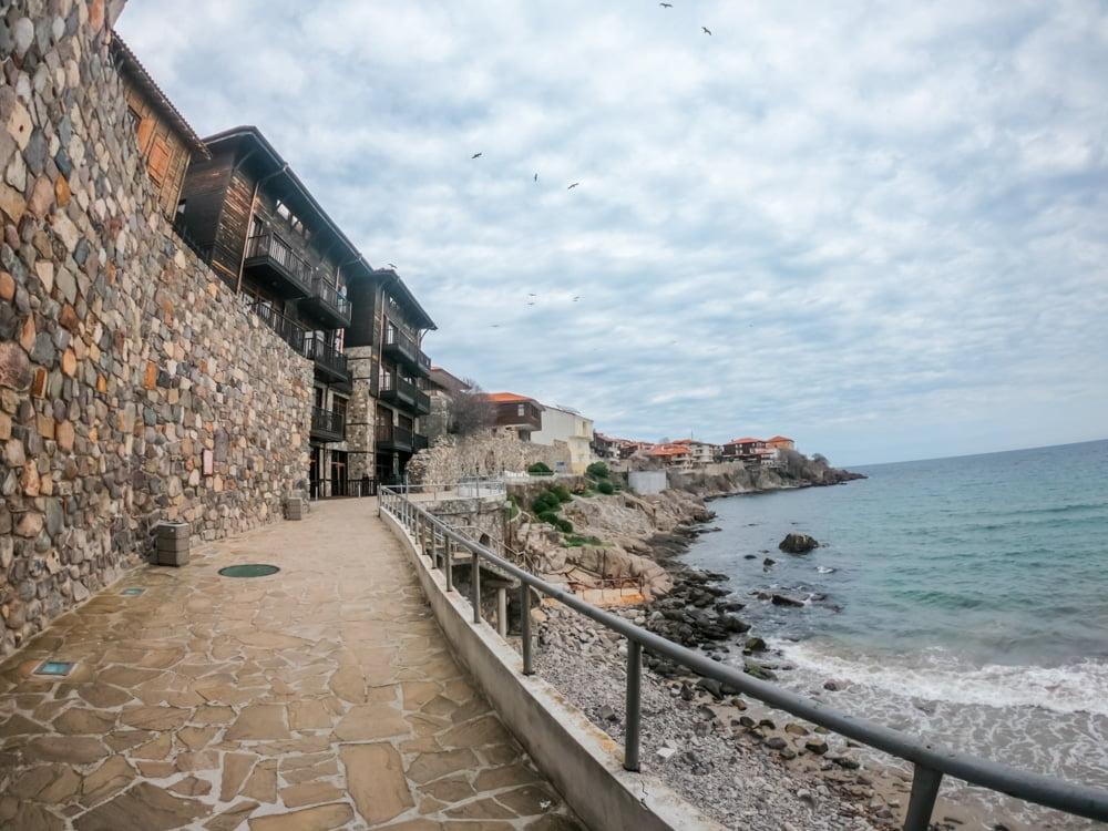 Архитектурно-исторический комплекс - Южная крепостная стена и башня в Созополе 5