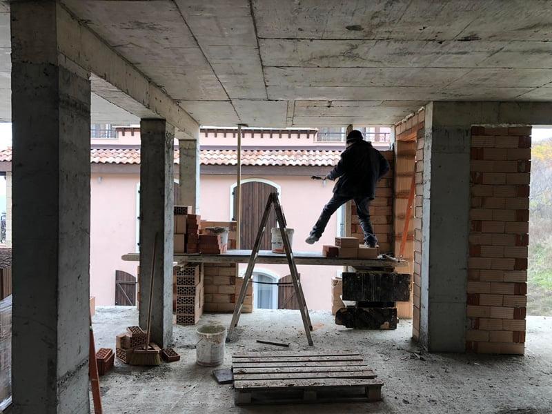 Этап строительства комплекса Святой Иоанн 2, Созополь 14