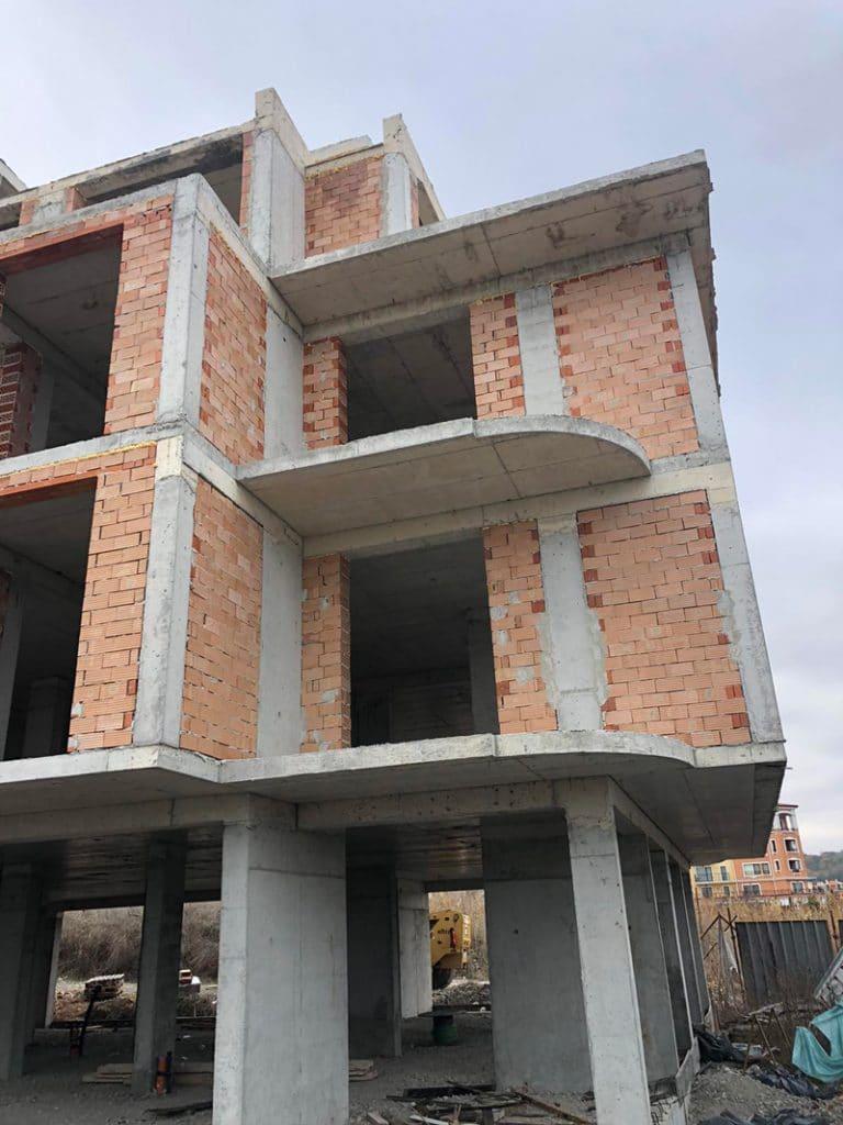 Stage of construction Saint John 2, Sozopol 13