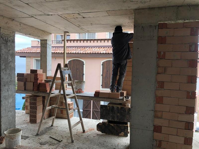 Stage of construction Saint John 2, Sozopol 12